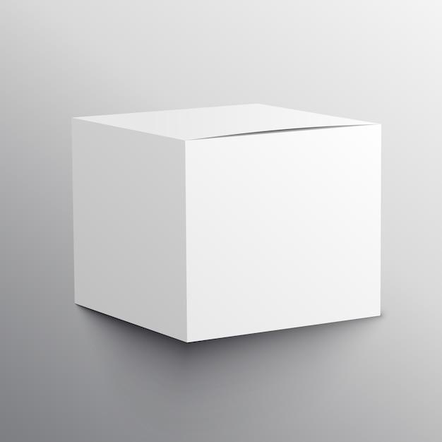 Realistico modello vuoto mockup modello di design Vettore gratuito