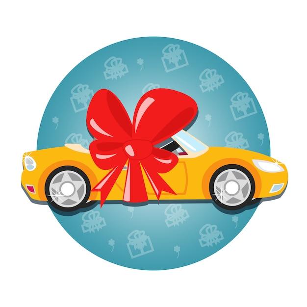 Regalo dell'automobile Vettore gratuito