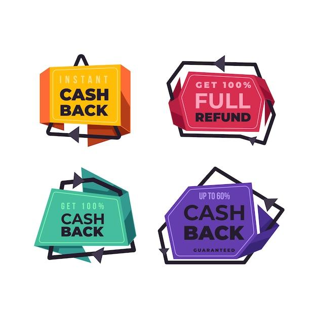 Restituzione di denaro dai badge acquisti Vettore gratuito