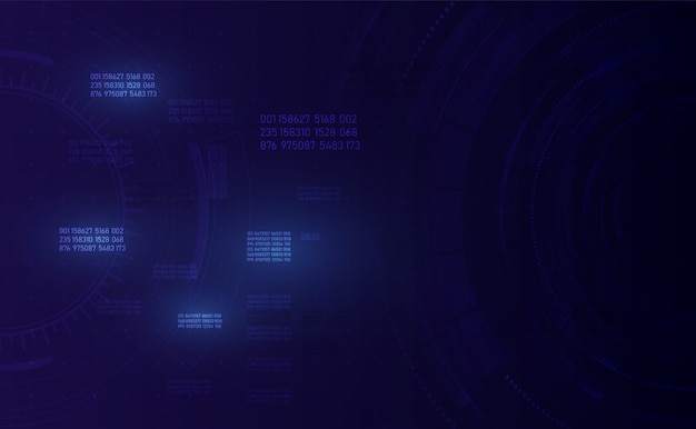 Rete globale in crescita e connessioni dati Vettore Premium
