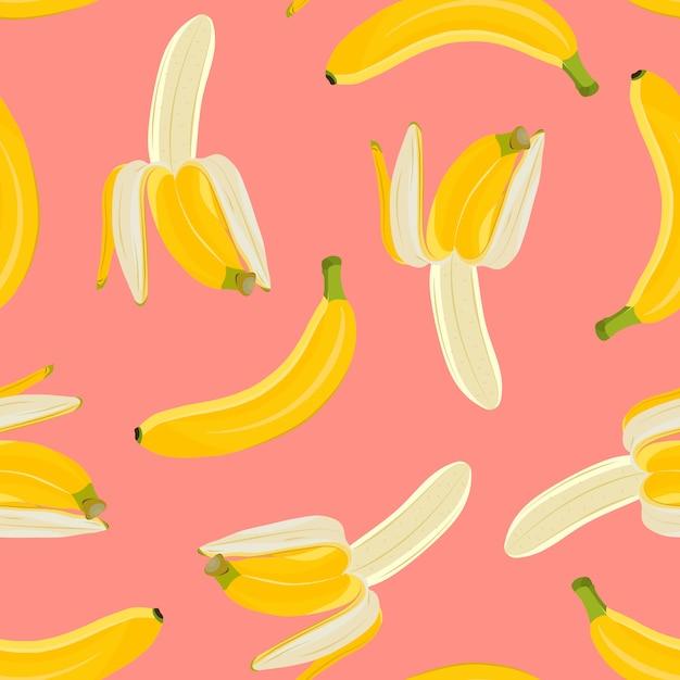 Reticolo senza giunte della banana Vettore Premium