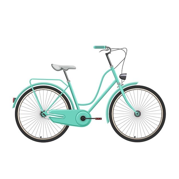 Retro Bicicletta Vettoriale E Illustrazione Scaricare Vettori Premium