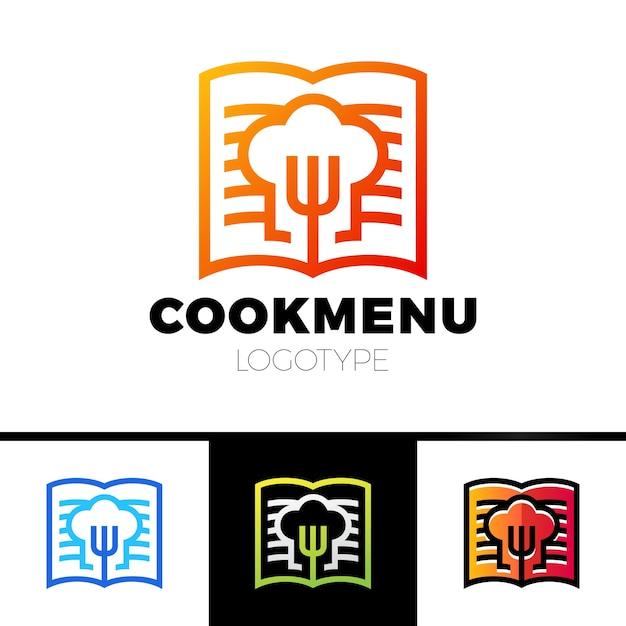 Ricetta O Cucina Logo Design Template Menu Con L Icona Della