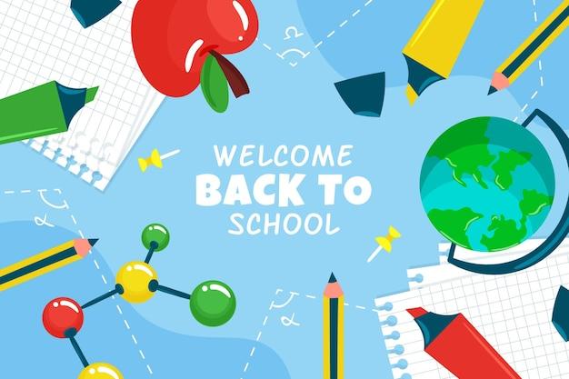 Ritorno a scuola Vettore gratuito