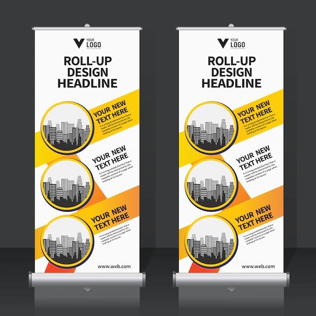 Roll up banner Vettore Premium