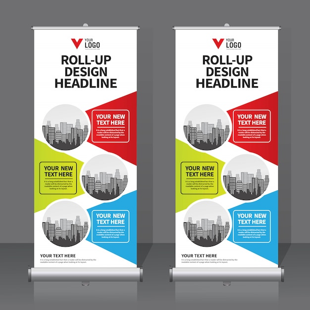 Roll up banner Vettore Premium