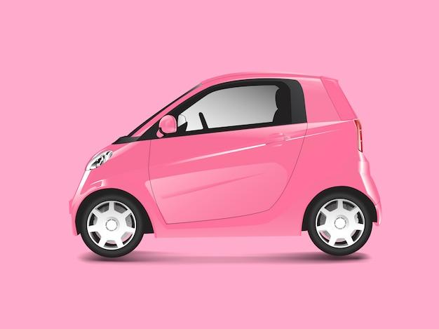 Rosa auto ibrida compatta vettoriale Vettore gratuito