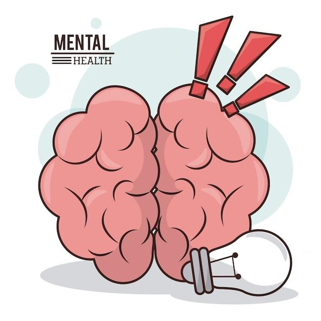 Salute mentale Vettore Premium