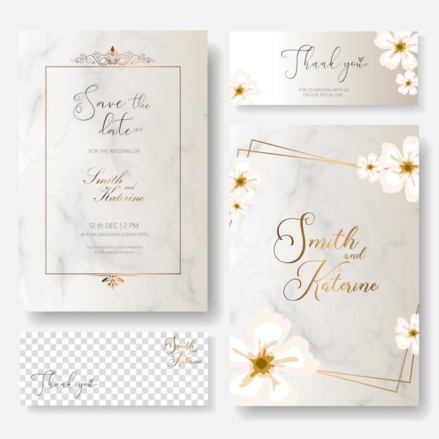 Salvare la carta di anniversario di matrimonio giorno speciale data Vettore Premium