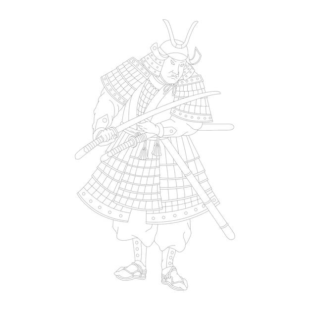 Samurai Vettore gratuito
