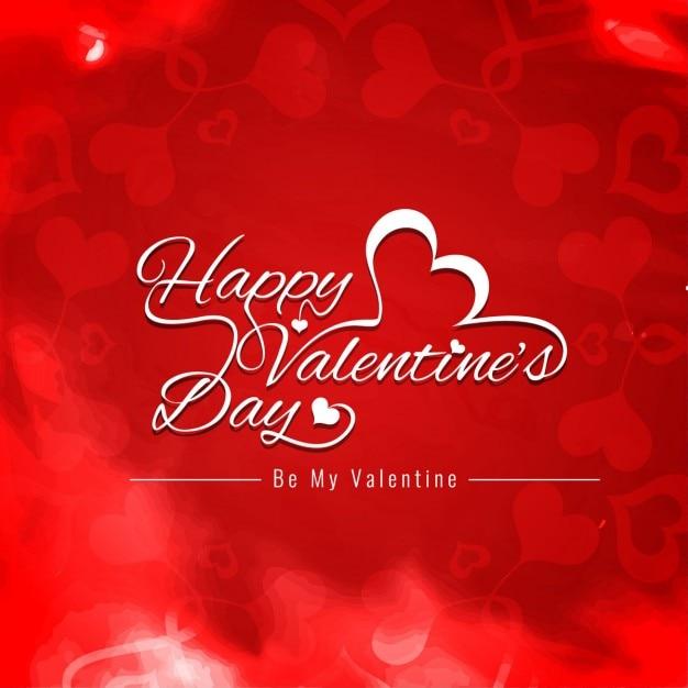 San valentino giorno felice di colore rosso di sfondo - Colore del giorno di san valentino ...