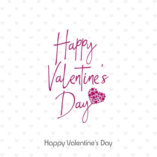 San valentino poster Vettore gratuito