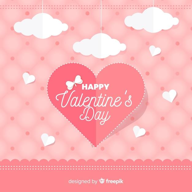 San valentino sullo sfondo Vettore gratuito