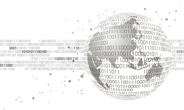 Scambio di dati internazionali di informazioni sulla connessione internazionale, Vettore Premium