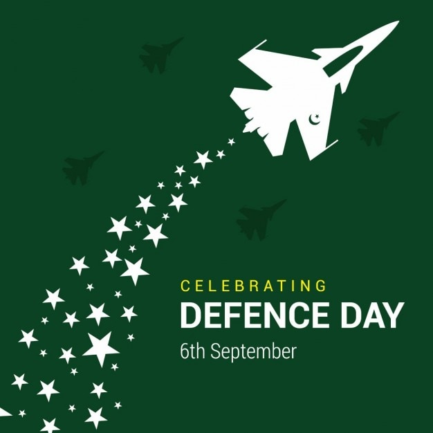 Sciopero pakistano army air con il modello di stella Vettore gratuito