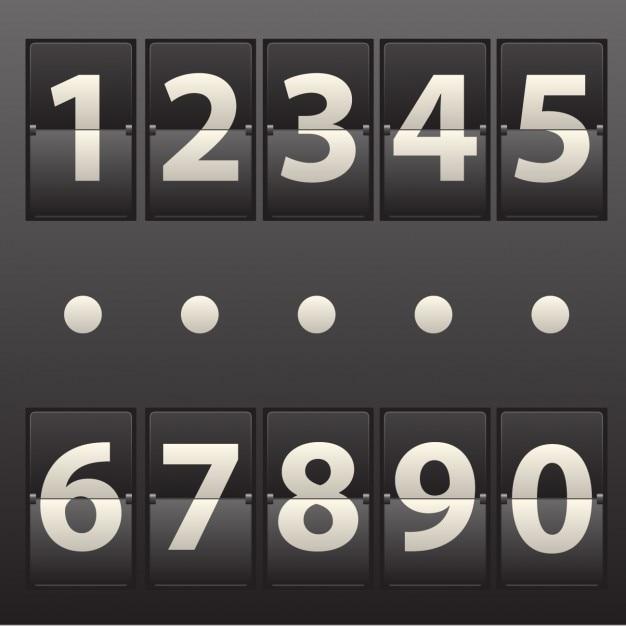 Scoreboard realistico Vettore gratuito