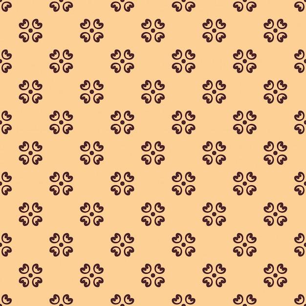 Seamless pattern floreale vintage Vettore Premium