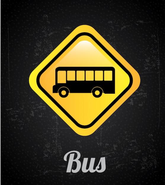 Segnale del bus Vettore Premium