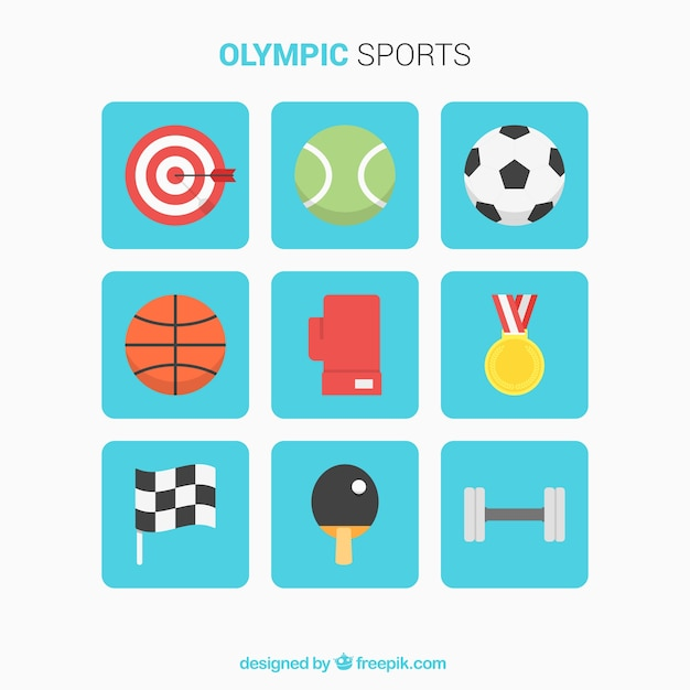 Selezione di elementi piani per gli sport olimpici for Creatore di piani gratuito