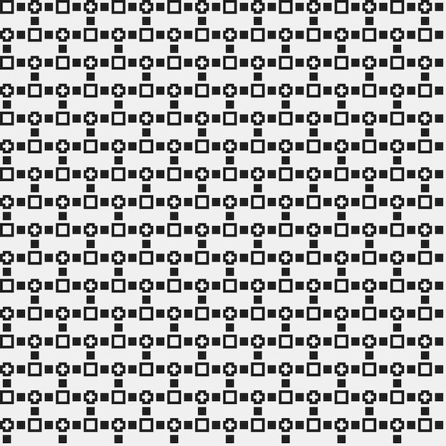 Semplice modello a pixel con forme geometriche monocromatiche. Utile ...