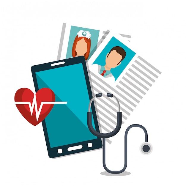 Servizio di tecnologia sanitaria Vettore gratuito
