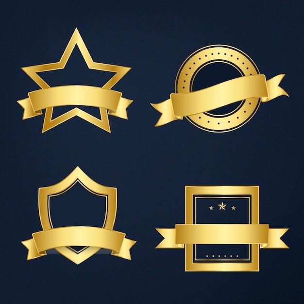 Set di banner misti vettoriale Vettore gratuito