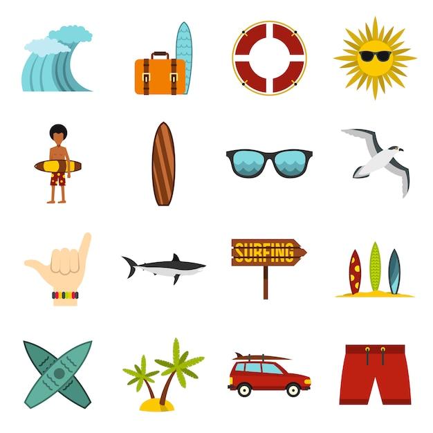 Set di icone di navigazione Vettore Premium