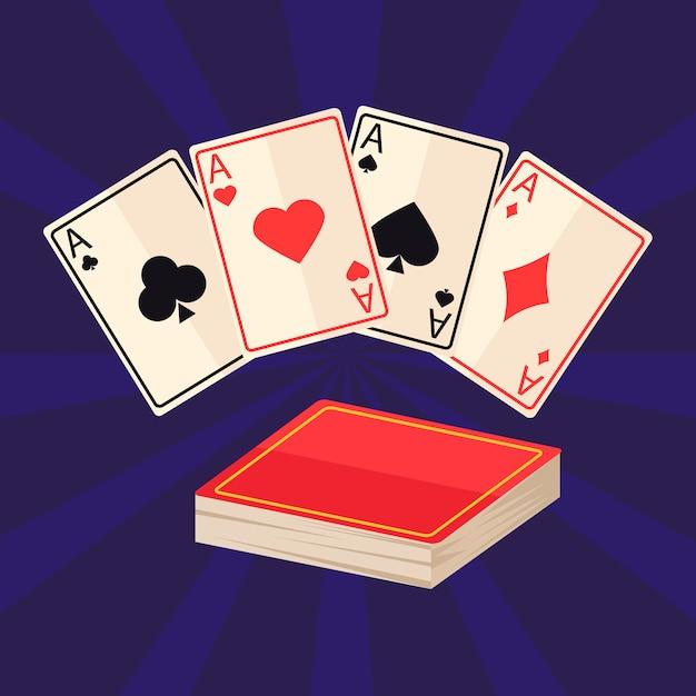 Set di icone magiche Vettore gratuito