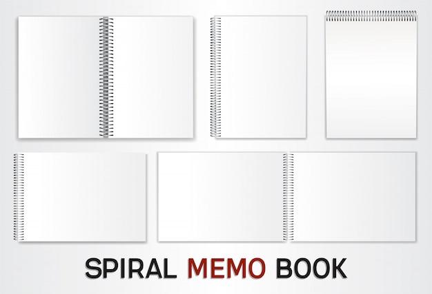 Set di modelli per album Vettore Premium