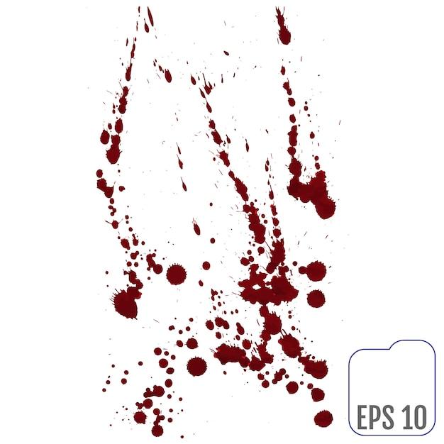 Set di sangue vario Vettore Premium