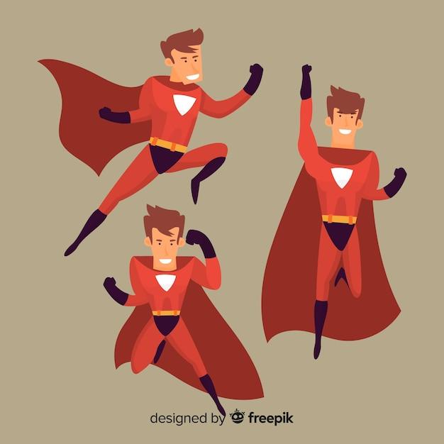Ciclope famiglia di supereroi genitore illustrazione cartone