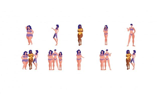 Set donna taglie forti Vettore Premium