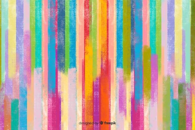 Sfondo acquerello colorato Vettore gratuito