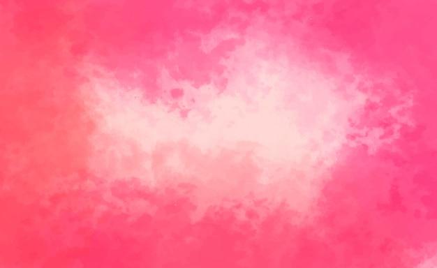 Sfondo acquerello rosa Vettore gratuito