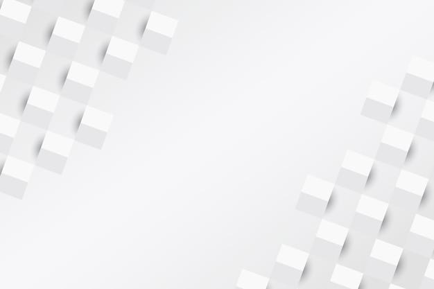 Sfondo astratto bianco stile carta Vettore gratuito