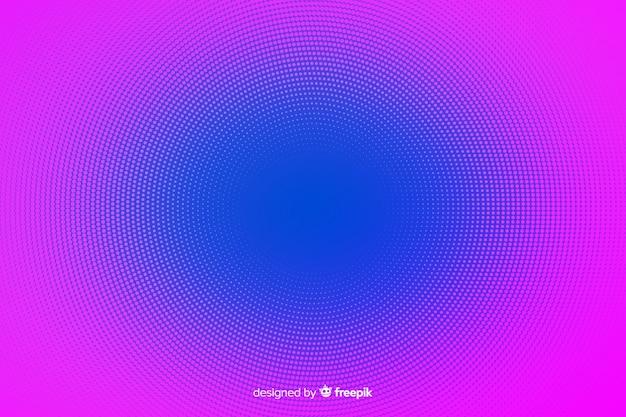 Sfondo astratto con vibrante effetto mezzetinte Vettore gratuito