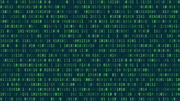 Sfondo astratto di tecnologia. sviluppatore web. codice del computer. Vettore Premium