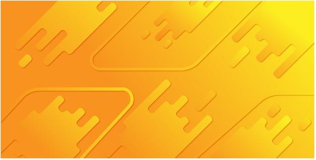 Sfondo astratto giallo Vettore Premium