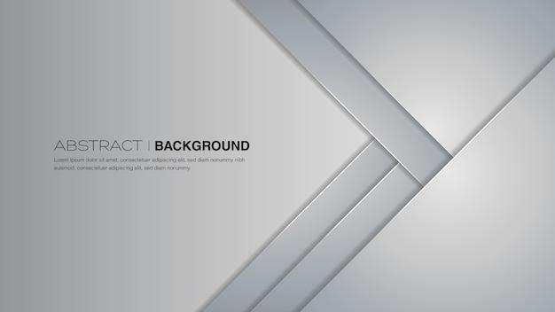 Sfondo astratto grigio chiaro Vettore Premium