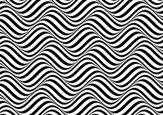 Sfondo astratto illusione ottica Vettore gratuito