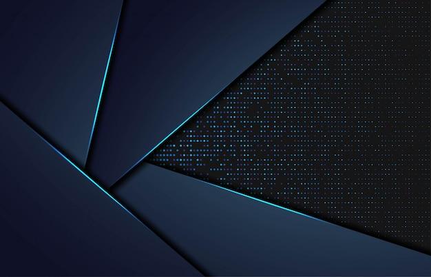 Sfondo astratto moderno con forme gpolygonal Vettore Premium