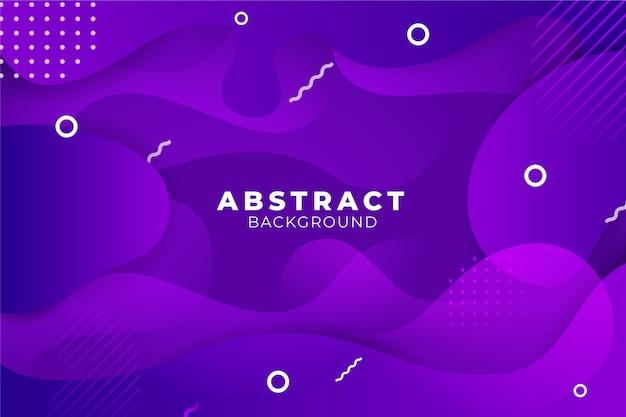 Sfondo astratto viola colorato Vettore gratuito