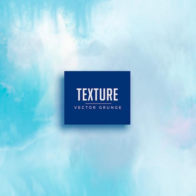 Sfondo azzurro dell'acquerello blu Vettore gratuito