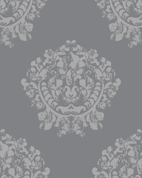 Sfondo barocco vintage trama di lusso. decorazione elegante Vettore gratuito