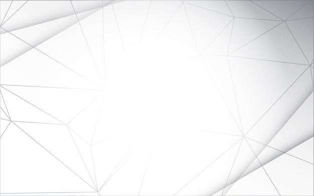 Sfondo Bianco E Grigio Concetto Di Design Vettoriale Scaricare