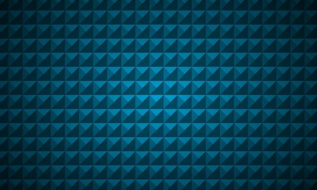 Sfondo blu di lusso con forma a triangolo basso poli. Vettore Premium