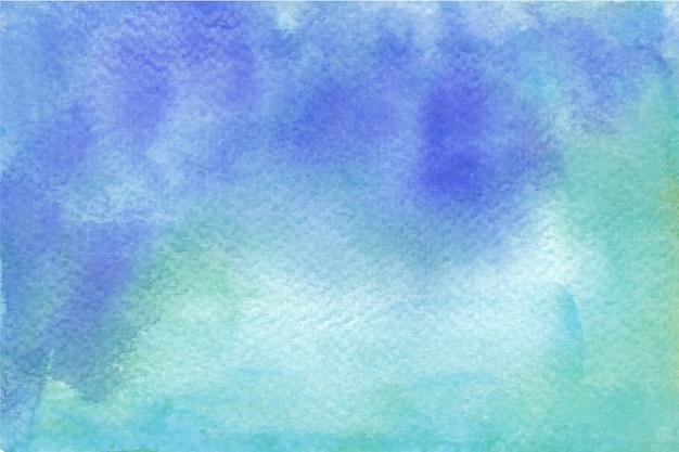 Sfondo Blu E Verde Acquerello Scaricare Vettori Gratis