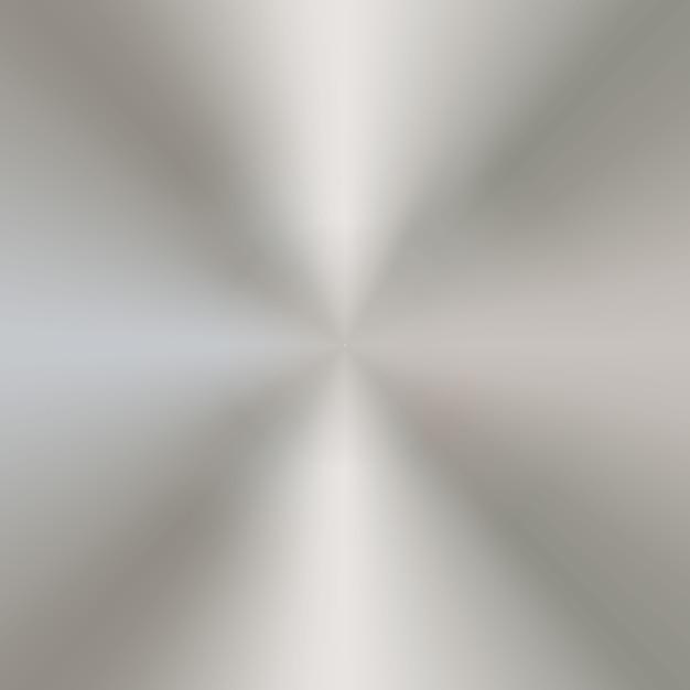 Sfondo circolare di metallo Vettore Premium