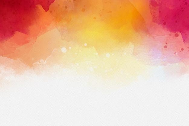 Sfondo colorato ad acquerello Vettore gratuito