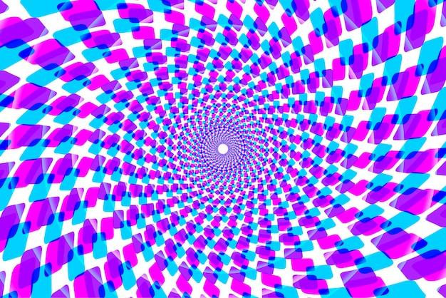 Sfondo colorato caleidoscopio psichedelico Vettore gratuito